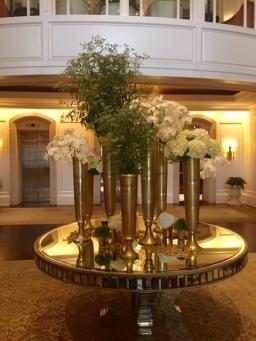Centerpiece at entrance