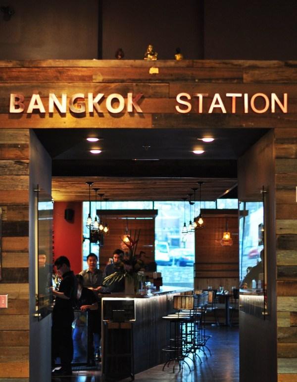 Bangkok Station Entrance