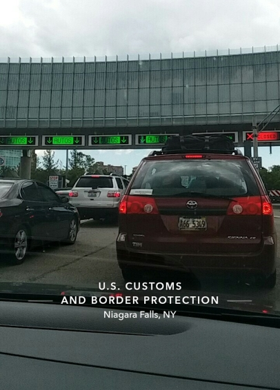 Niagara Falls Border protection